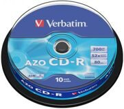 CD-R Verbatim 700Mb 52Х (10 шт.)